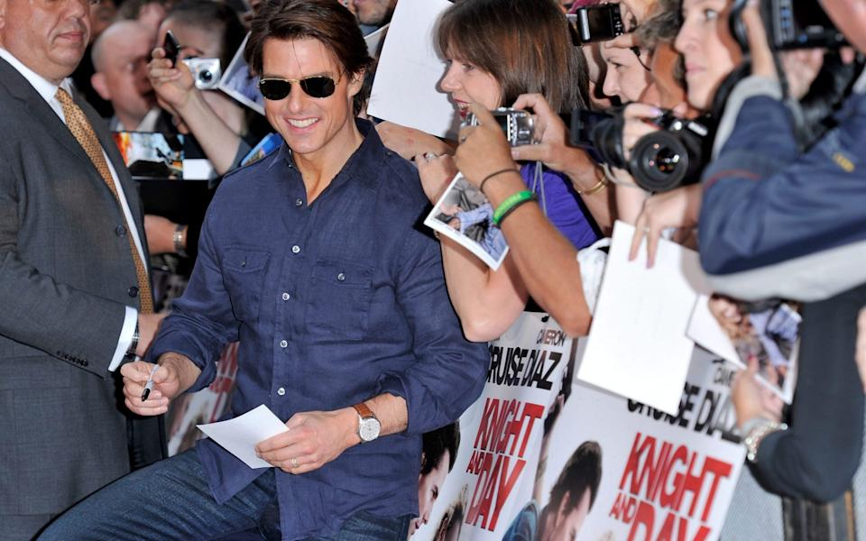 Tom Cruise in 2010 - Getty