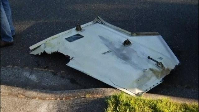 Refrigerator-Size Plane Door Crashes Into Washington Neighborhood