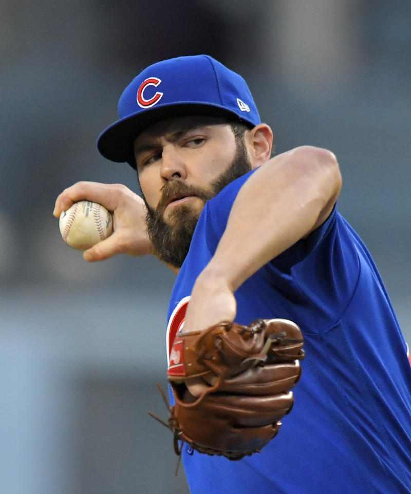 Phillies 'looming' as favorite to sign RHP Jake Arrieta