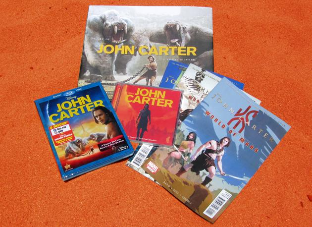 John Carter Blu-ray Prize Pack