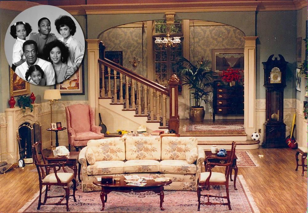 From the cosby show to mad men a look back at the for The living room channel 10 studio audience