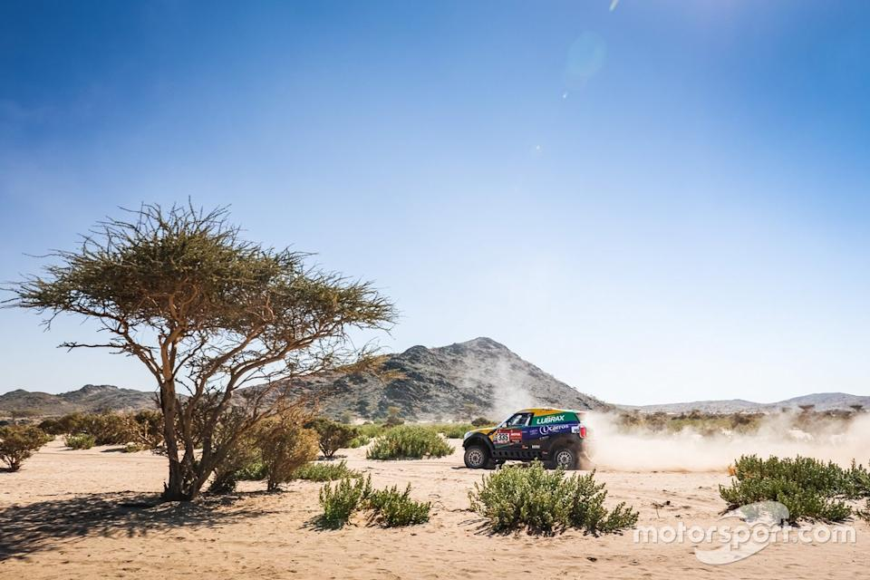 "#335 X-Raid Mini JCW Rally Team: Guilherme Spinelli, Youssef Haddad<span class=""copyright"">X-raid </span>"