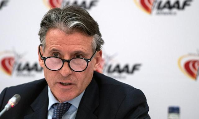 """<span class=""""element-image__caption"""">The IAAF President, Sebastian Coe, says Russia faces an even longer ban after a taskforce was disappointed with the lack of progress tackling their tainted doping system.</span> <span class=""""element-image__credit"""">Photograph: Lauren Hurley/PA</span>"""
