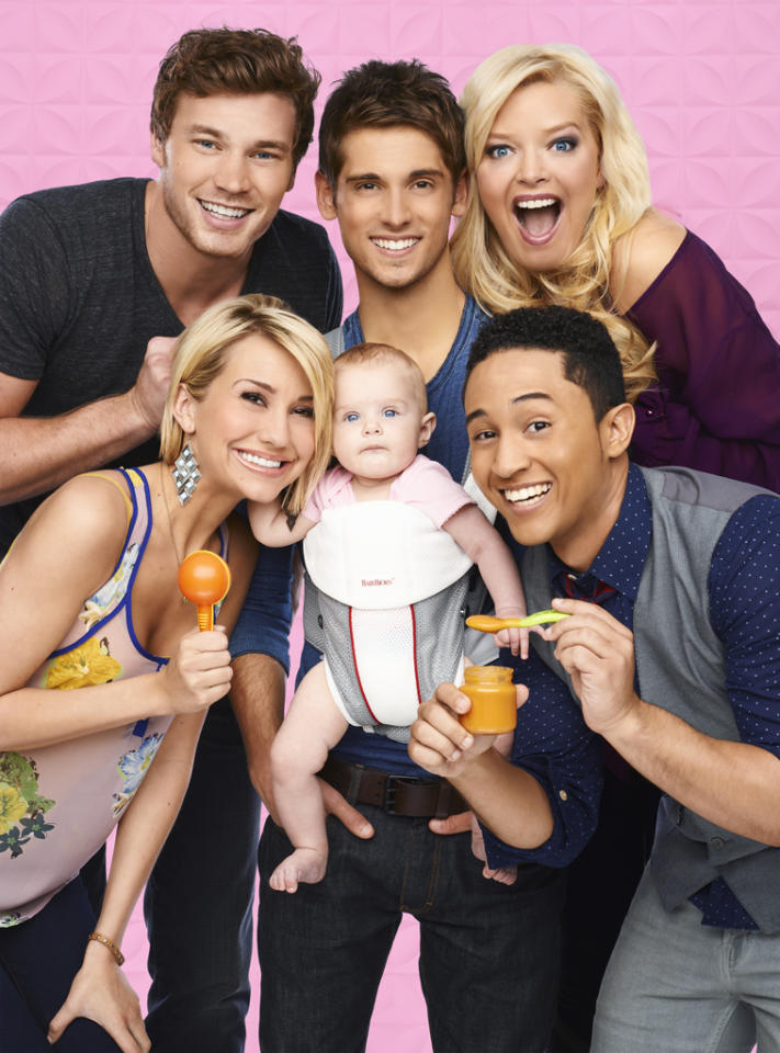 "<p><b>Baby Daddy</b> (Wednesday, 6/20 on ABC Family)<br><br> Have you seen ""Raising Hope""? This is a little like that, but it looks a lot less funny. Ben (Jean-Luc Bilodeau) gets his child dropped on his doorstep and has to raise it with the help of his mom, brother, friend, and secret crush.</p>"