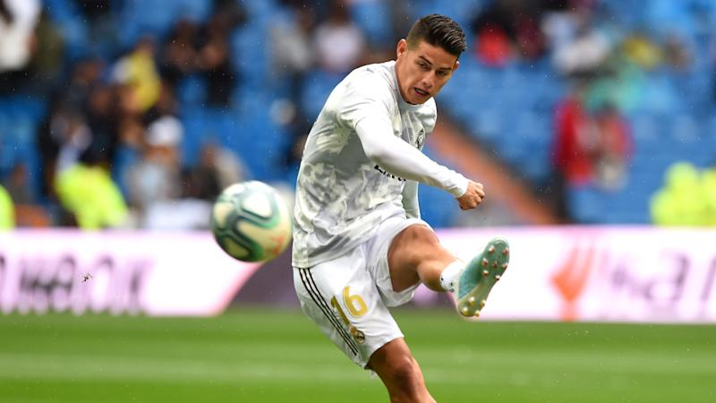 James Rodriguez Real Madrid Levante LaLiga 14092019