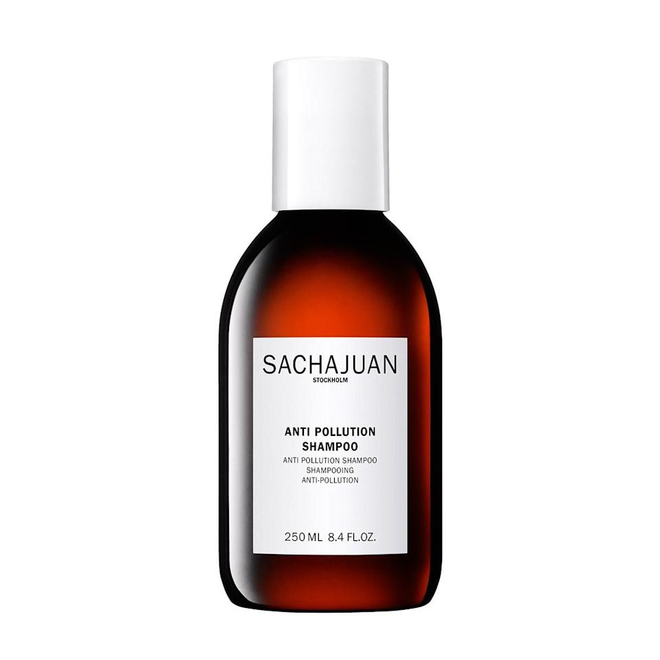 """$31, Sachajuan Anti-Pollution Shampoo (out later this month). <a href=""""https://www.sephora.com/brand/sachajuan/hair-products"""" rel=""""nofollow noopener"""" target=""""_blank"""" data-ylk=""""slk:Get it now!"""" class=""""link rapid-noclick-resp"""">Get it now!</a>"""