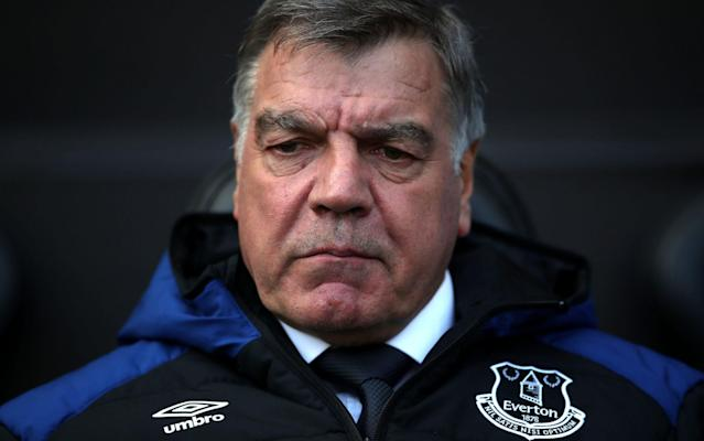 Everton fans were asked to rate Allardyce's performance out of ten in a survey - PA