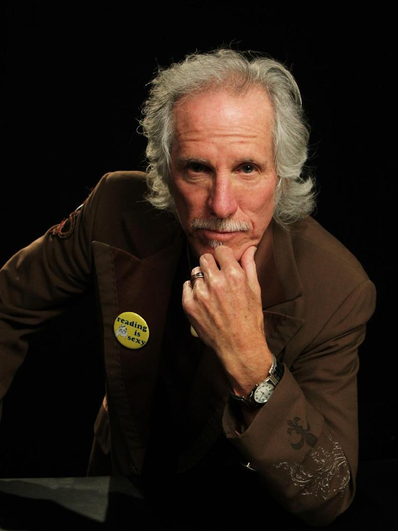 "This April 17, 2013 photo shows fFormer Doors drummer John Densmore in New York. The 68-year drummer is no stranger to chronicling his former band. He wrote The New York Times best-seller, ""Riders on the Storm"" in 1991. He keeps the spirit of Jim Morrison alive in his latest book, ""The Doors Unhinged: Jim Morrison's Legacy Goes on Trial."" (AP Photo/John Carucci)"