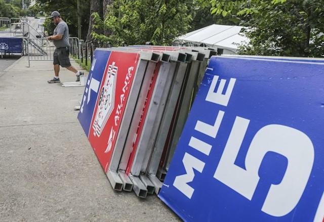 Olympic marathon trials in Atlanta: Roads that will be closed for the race