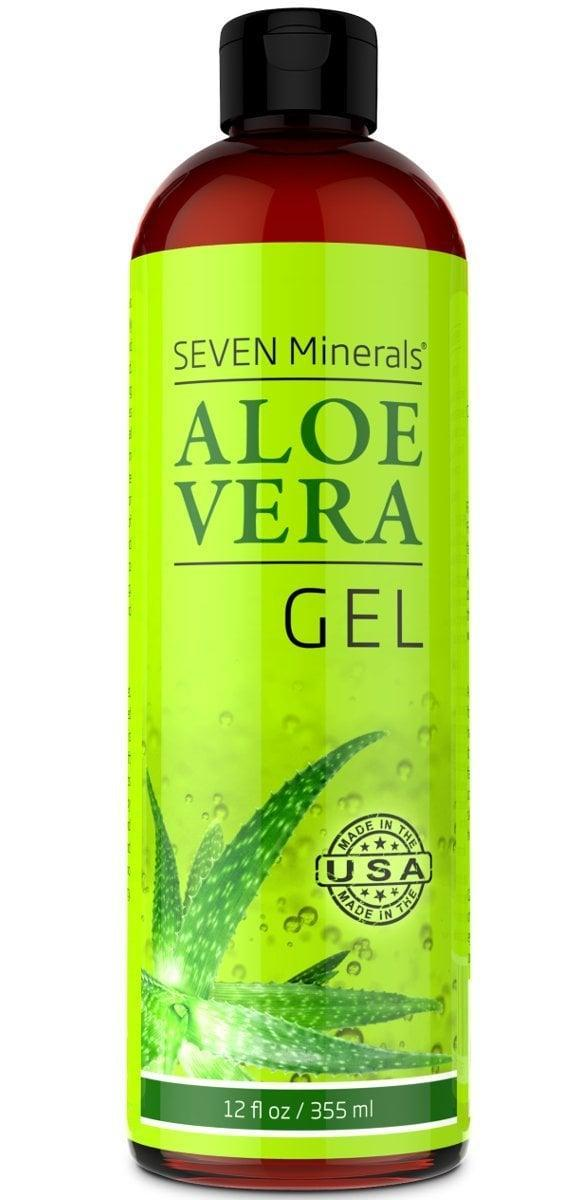 <p>This <span>Seven Minerals Organic Aloe Vera Gel</span> ($20, originally $25) will be seriously helpful if you've been overexposed to the sun.</p>