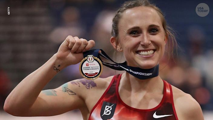 Shelby Houlihan is the reigning national champion and American record-holder at both 1,500 and 5,000 meters.