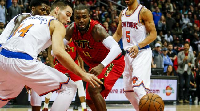 The Four-OT Thriller Between The Hawks And The Knicks Gave Us An Absurd Box  Score e78fea10f