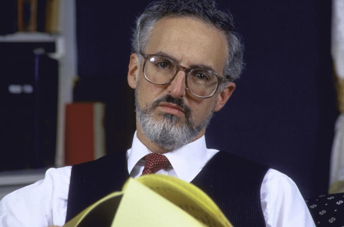 Supreme Court Justice nominee, Douglas Ginsburg, at home. (Photo: Diana Walker//Time Life Pictures/Getty Images)