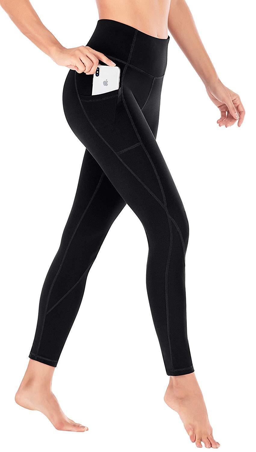 "<h3><a href=""https://www.amazon.com/Heathyoga-Leggings-Workout-Running-See-Through/dp/B07DKC92D3/ref=sr_1_10"" rel=""nofollow noopener"" target=""_blank"" data-ylk=""slk:Heathyoga Yoga Pants With Pockets"" class=""link rapid-noclick-resp"">Heathyoga Yoga Pants With Pockets</a> </h3><br><br>4.7 out of 5 stars, 7,340 reviews<br><br><strong>Promising Review: </strong>Bobbi K was effusive in her praise of these simple, easy-wearing yoga pants: ""WOW. What an incredible company. The packaging was great and secure, with a thank you note for the purchase. The leggings are hands down, the best leggings I've ever owned. I want to throw out all of my other pairs, and buy every color of these. I would love to see these in some cool patterns and prints. The quality of this product is 10/10, not to mention the price. The fit was spot on. I'm 5' 4"" & 148 lbs and the medium fits like a glove. I am very active and these leggings have been good for lifting, running, yoga, barre, & ballet so far. These are SO soft and make your butt look awesome. I will never buy Victoria's Secret or Fabletics leggings again. Please support this business.""<br><br><br><br><strong>Heathyoga</strong> Yoga Pants with Pockets, $, available at <a href=""https://www.amazon.com/Heathyoga-Leggings-Workout-Running-See-Through/dp/B07DKC92D3/ref=sr_1_10"" rel=""nofollow noopener"" target=""_blank"" data-ylk=""slk:Amazon"" class=""link rapid-noclick-resp"">Amazon</a>"