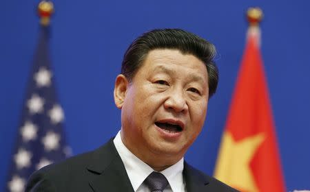 China's President Xi addresses the Joint Opening Session of the U.S.-China Strategic and Economic Dialoguein Beijing