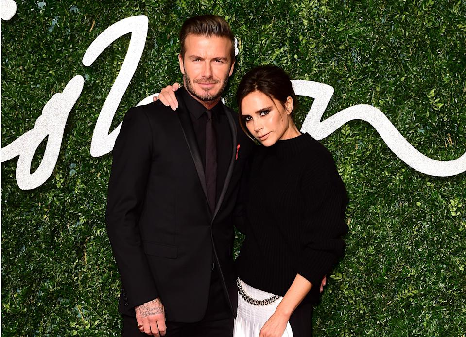 The Beckhams deny they're about to divorce. (PA)