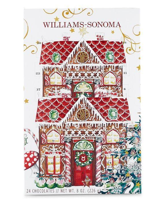 "<p>williams-sonoma.com</p><p><strong>$18.95</strong></p><p><a href=""https://go.redirectingat.com?id=74968X1596630&url=https%3A%2F%2Fwww.williams-sonoma.com%2Fproducts%2Fwilliams-sonoma-advent-calendar&sref=https%3A%2F%2Fwww.delish.com%2Ffood%2Fg23601255%2Fchocolate-advent-calendars%2F"" rel=""nofollow noopener"" target=""_blank"" data-ylk=""slk:BUY NOW"" class=""link rapid-noclick-resp"">BUY NOW</a></p><p>If you're still looking for milk chocolate ONLY (we feel you!), this old school-style advent calendar from Williams Sonoma is another great and beautiful bet. </p>"