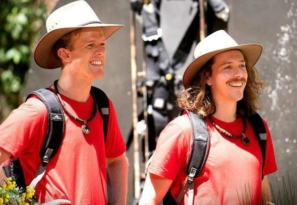 'I'm A Celebrity... Get Me Out Of Here!' contestants Adam Densten and Symon Lovett