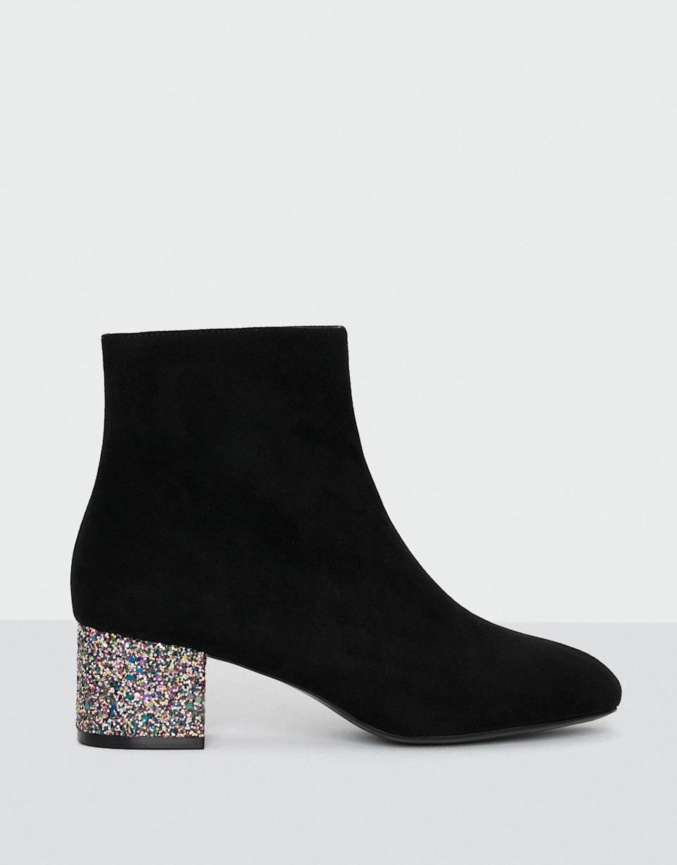 """<p><a rel=""""nofollow noopener"""" href=""""http://www.pullandbear.com/gb/en/woman/sale/shoes/see-all/glitter-high-heeled-ankle-boots-c670007p500011512.html#040"""" target=""""_blank"""" data-ylk=""""slk:Pull And Bear, was £39.99, now £25.99"""" class=""""link rapid-noclick-resp""""><em>Pull And Bear, was £39.99, now £25.99</em></a> </p>"""