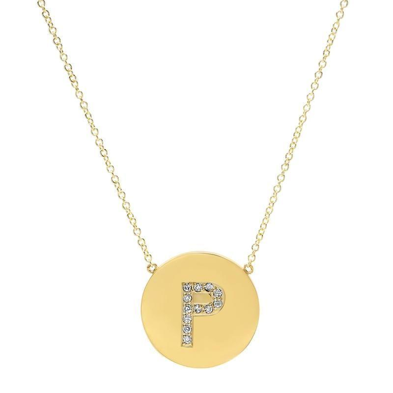 """<p><strong>Jennifer Meyer</strong></p><p>jennifermeyer.com</p><p><strong>$1800.00</strong></p><p><a href=""""https://jennifermeyer.com/products/diamond-letter-disc-necklace-p"""" rel=""""nofollow noopener"""" target=""""_blank"""" data-ylk=""""slk:Shop Now"""" class=""""link rapid-noclick-resp"""">Shop Now</a></p><p>An initial diamond disc pendant is perfect for layering with her summer chains. </p>"""