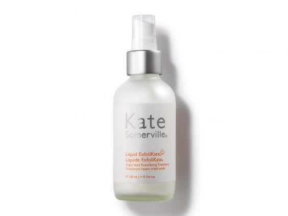 Enriched with antibacterial honey and vitamin E, this AHA exfoliant is the perfect nighttime treat (Kate Somerville)