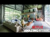 "<p>Love HGTV? Say hello to Netflix's <em>Amazing Interiors</em>. The show features homes that look ordinary on the outside, but have custom interiors on the inside. Picture a hockey fan cave, a backyard roller coaster, and a waterfall bedroom.</p><p><strong>What to expect</strong>: enviable interiors, hardworking contractors, and a sudden desire to renovate your home.</p><p><a href=""https://www.youtube.com/watch?v=ia-Hclo-ITs"" rel=""nofollow noopener"" target=""_blank"" data-ylk=""slk:See the original post on Youtube"" class=""link rapid-noclick-resp"">See the original post on Youtube</a></p>"
