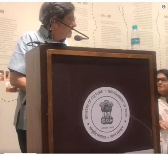 """Amol Palekar was interrupted while speaking at an event recently and asked to """"stick to the topic""""."""