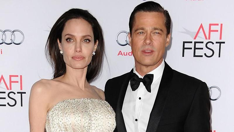 Brad Pitt and Angelina Jolie. Photo: Getty