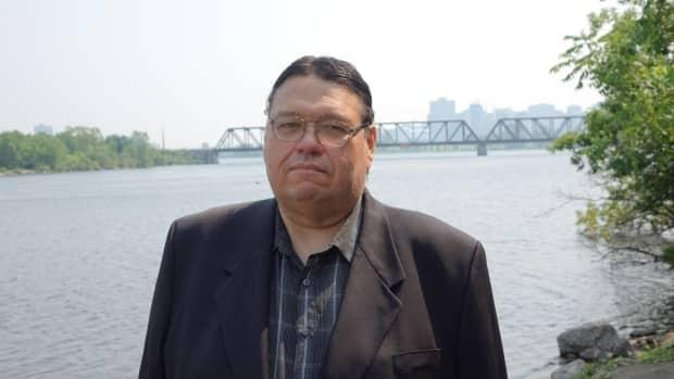John Boudrias was elected grand chief of the Algonquin Anishinabeg Nation Tribal Council last spring.  (Hugo Bélanger/Radio-Canada - image credit)