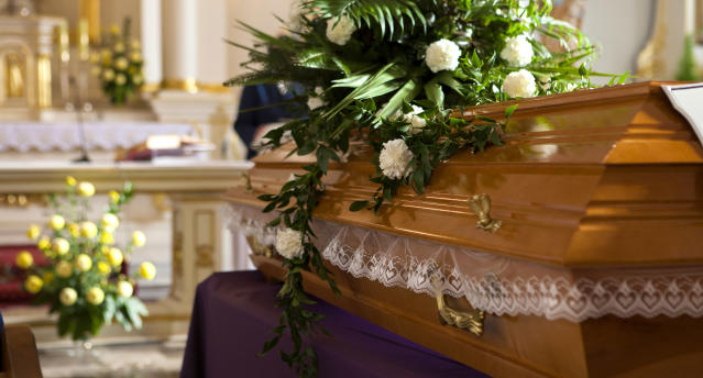 <span>A family was kicked out of their loved one's funeral for accidentally knocking over a chalice.</span> (Photo: Getty Images
