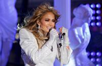 FILE PHOTO: Lopez Performs in Times Square on New Years Eve in New York City