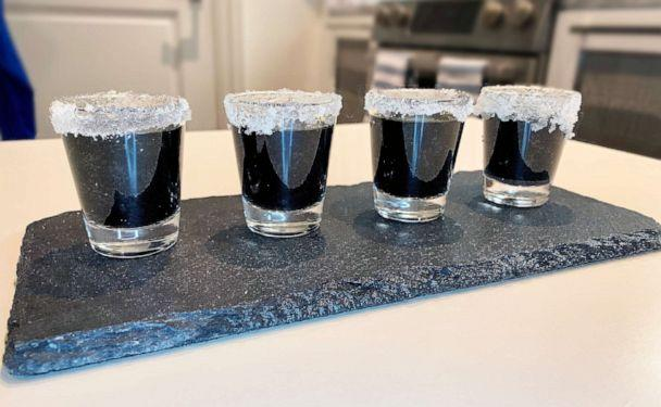 PHOTO: I made Pinterest's top 10 Halloween recipes of 2019, which included a 'witches brew' drink. (ABC News)
