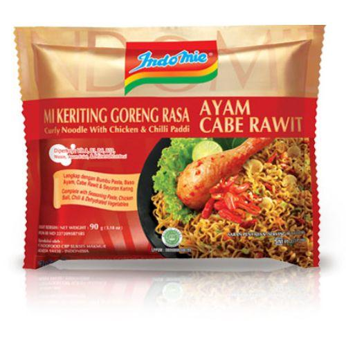 Photo: Indomie Curly Noodle With Chicken & Chilli Padi