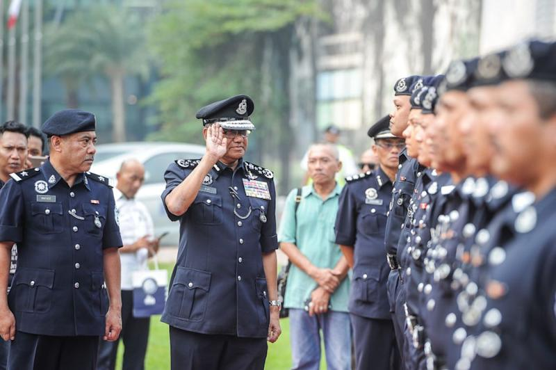 Fuzi said the Pulapol trainees would not be armed and will fall under the purview of the Dang Wangi district police. — Picture by Shafwan Zaidon
