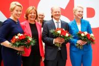 Party leadership meeting of the SPD after German general elections, in Berlin