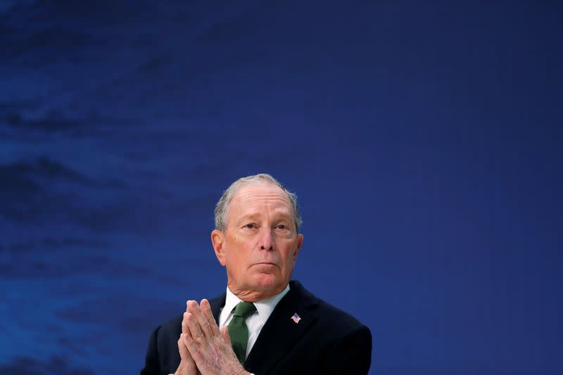 U.S. must fix relations with China to combat climate change - Michael Bloomberg