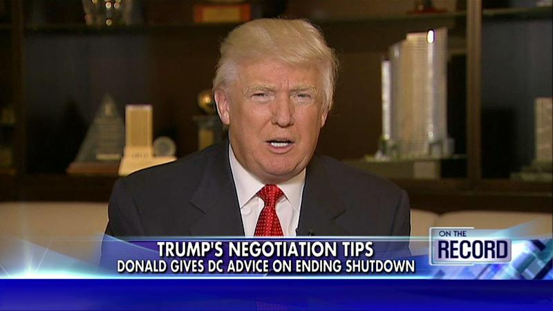 Donald Trump in 2013: Government Shutdowns Happen When the President Is Bad at His Job