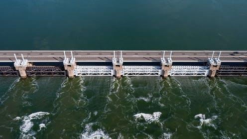 """<span class=""""caption"""">The Oosterscheldekering helps protect the Netherlands from North Sea flooding.</span> <span class=""""attribution""""><span class=""""source"""">XL Creations / shutterstock</span></span>"""