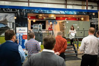 Modine's 2019 Innovation Tour features professional development seminars and showcase a full line of HVAC solutions.