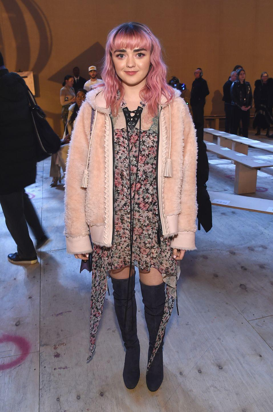 <p>2019 was the year of the sherpa jacket. 2021 will bring brighter colors and trendier styles. This fluffy, bear-like jacket is a fall must. Throw it over a summer dress or layer up with a turtleneck and bell bottoms. <br><br></p>