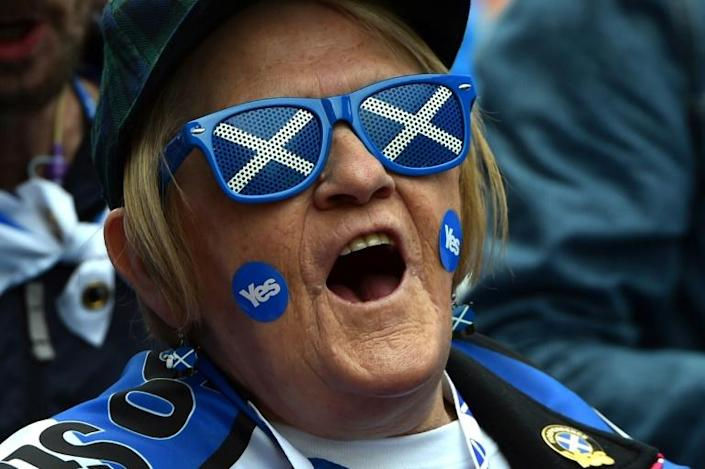 Scottish independence campaigners have not given up since the 'no' vote in 2014