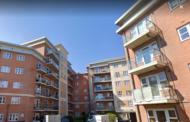 The boy fell from a fourth floor window at Bridge Court, Harrow on Friday, November 1 (GOOGLE MAPS)