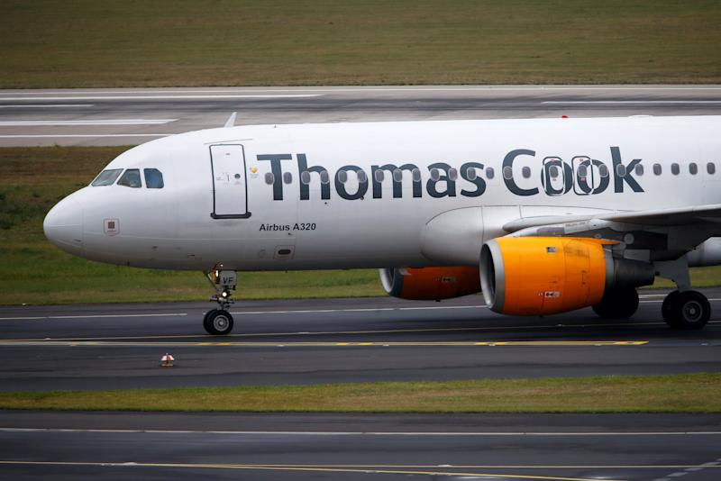 The CAA has stepped in to manage the refund process on behalf of Thomas Cook: REUTERS