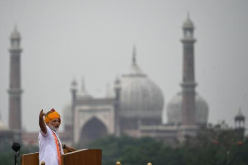 In his national day speech, India's Prime Minister Narendra Modi warned the country faced a population explosion