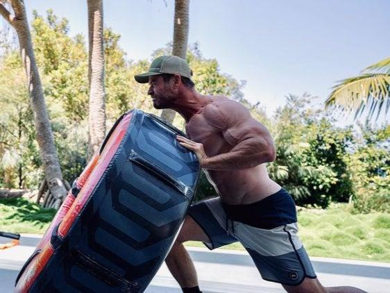 Chris Hemsworth has undergone his biggest body transformation yet for new Thor filmInstagram