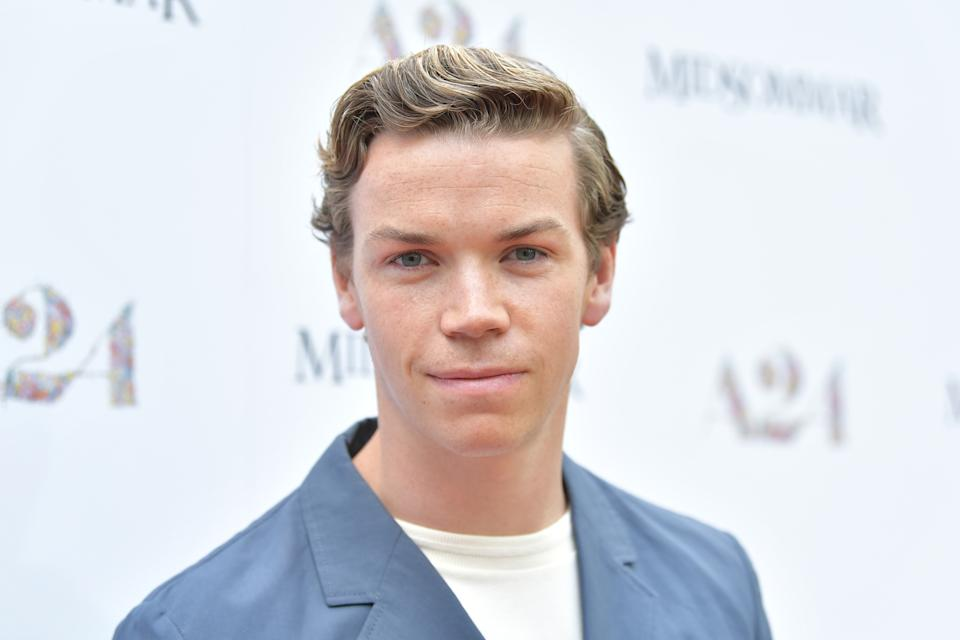 """Will Poulter attends the premiere of A24's """"Midsommar"""" at ArcLight Hollywood on June 24, 2019. (Photo by Amy Sussman/Getty Images)"""