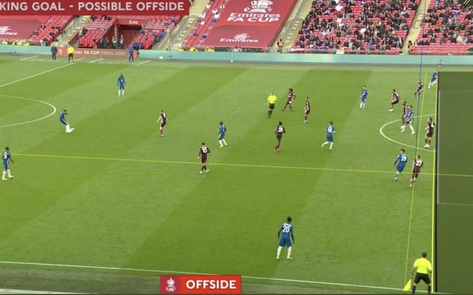 Chelsea's FA Cup final equaliser was ruled out by Var - BBC