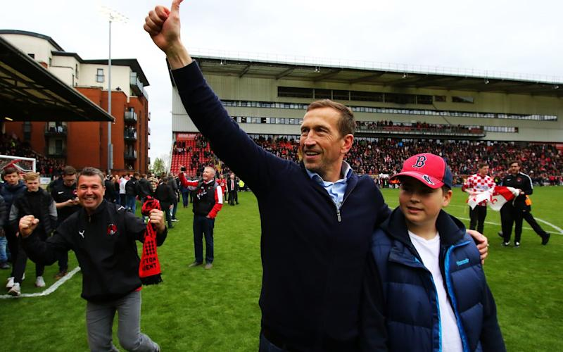Leyton Orient manager Justin Edinburgh has died at the age of 49 - PA