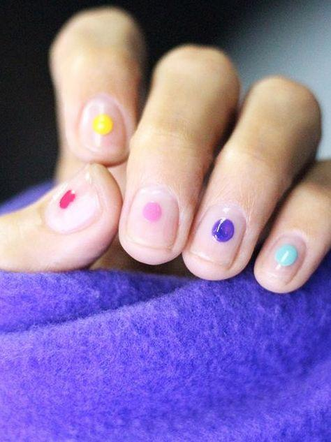 20 Shockingly Easy Nail Designs You Can