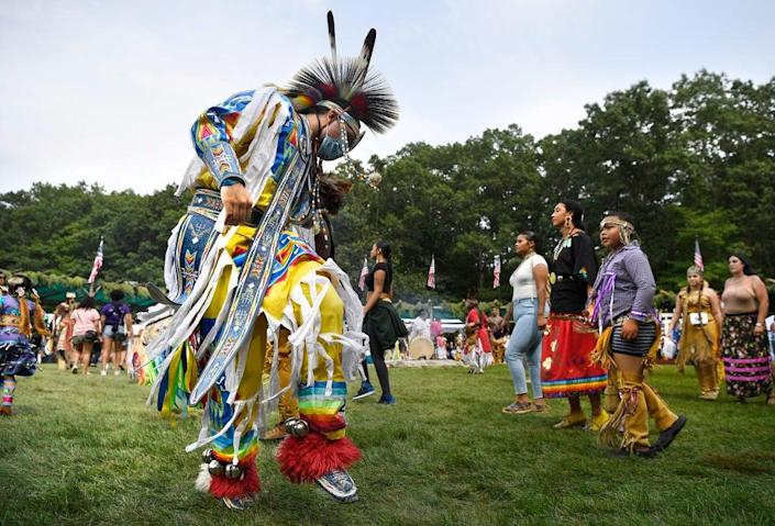 Native American Curriculum (Copyright 2021 The Associated Press. All rights reserved.)